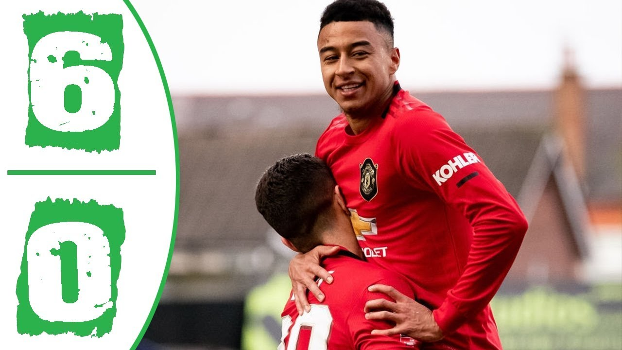 Tranmere Rovers Vs Manchester United 0-6 Goals and Full Highlights – 2020