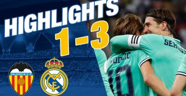 valencia vs real madrid 1 3 goal