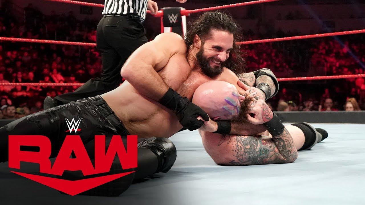 Viking Raiders vs. Seth Rollins & Buddy Murphy – MONDAY NIGHT RAW
