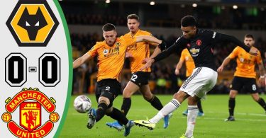 wolves vs manchester united 0 0