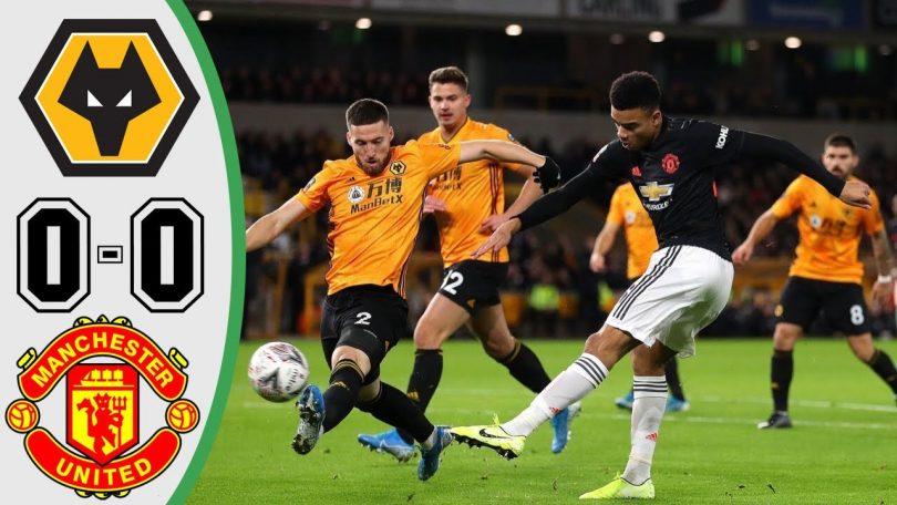 wolves vs manchester united 0 0