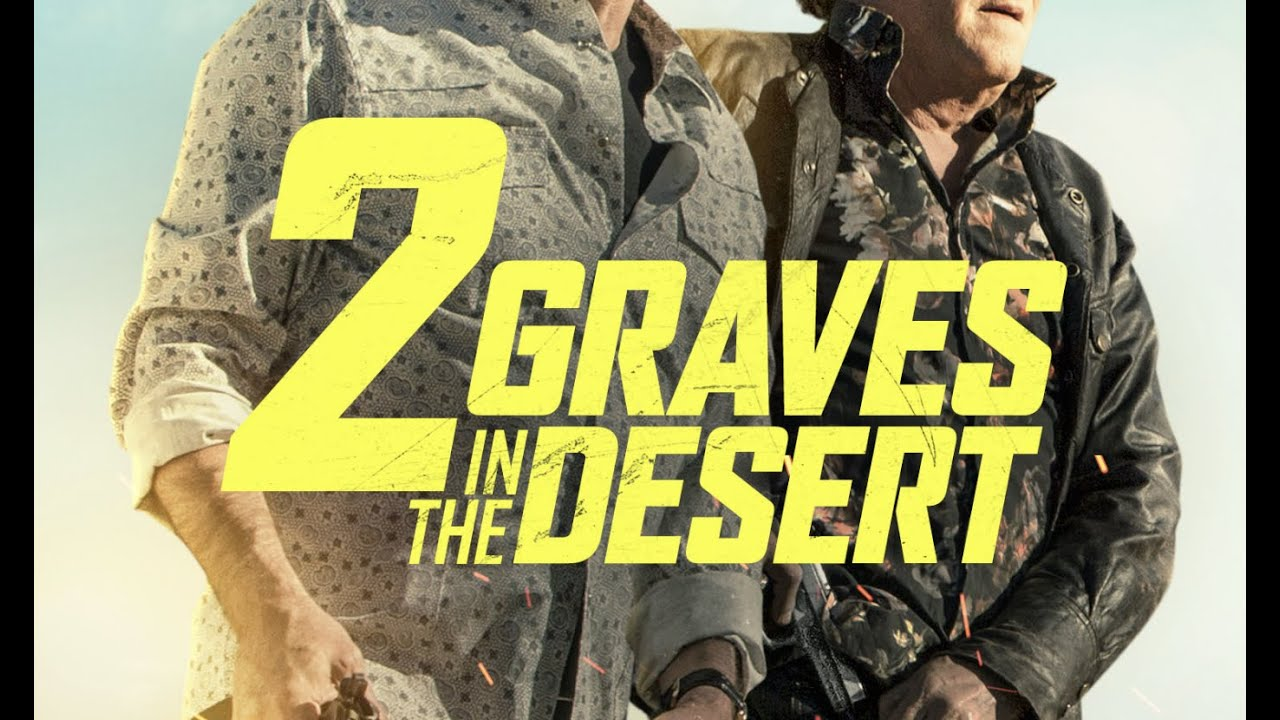 2 graves in the desert trailer s