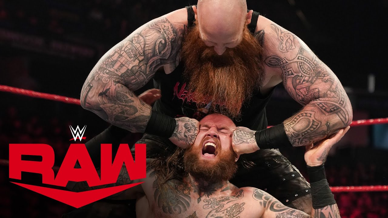 Aleister Black vs. Erick Rowan – MONDAY NIGHT RAW