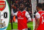 arsenal vs newcastle united 4 0