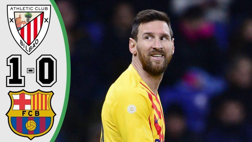athletic bilbao vs barcelona 1 0