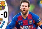 barcelona vs eibar 5 0 goals and