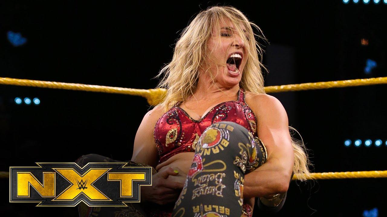 Bianca Belair vs. Charlotte Flair – WWE NXT, Feb. 26, 2020