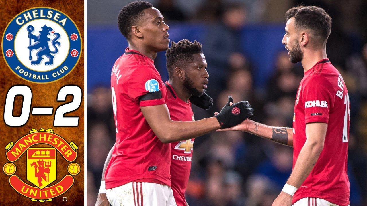 Manchester united pissing on chelsea