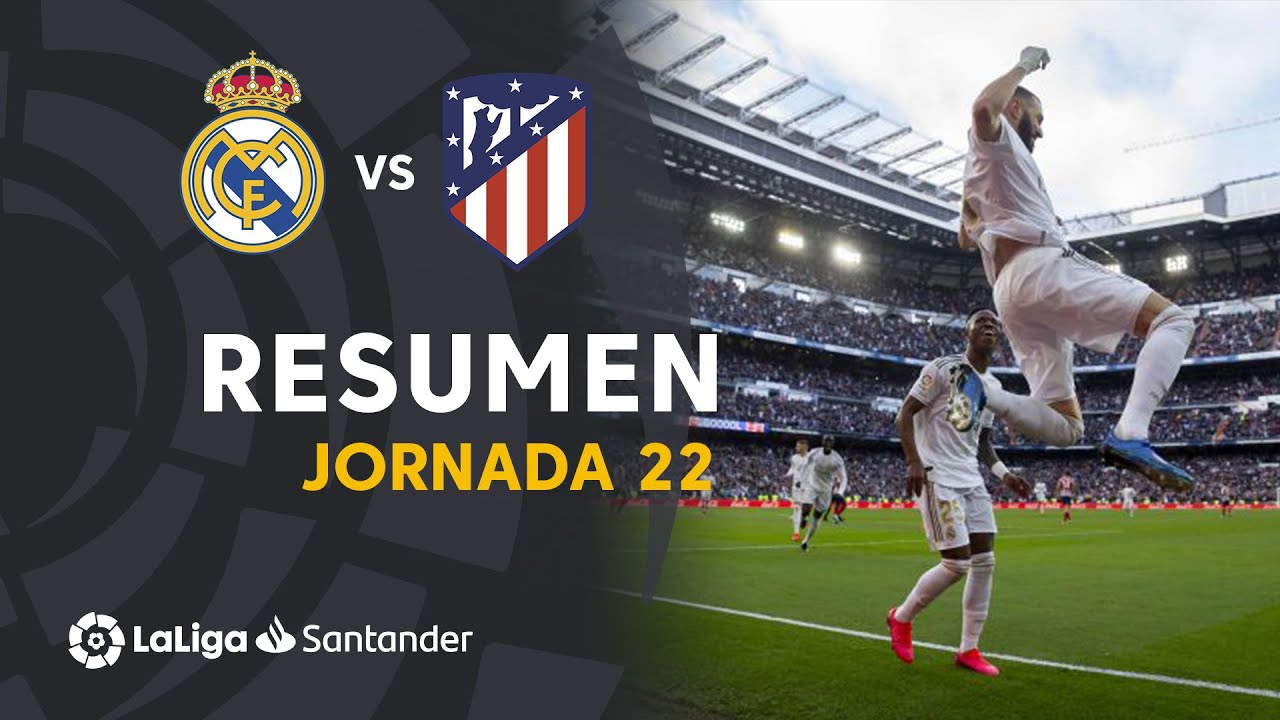 Real Madrid Vs Atletico Madrid 1 0 Goals And Full