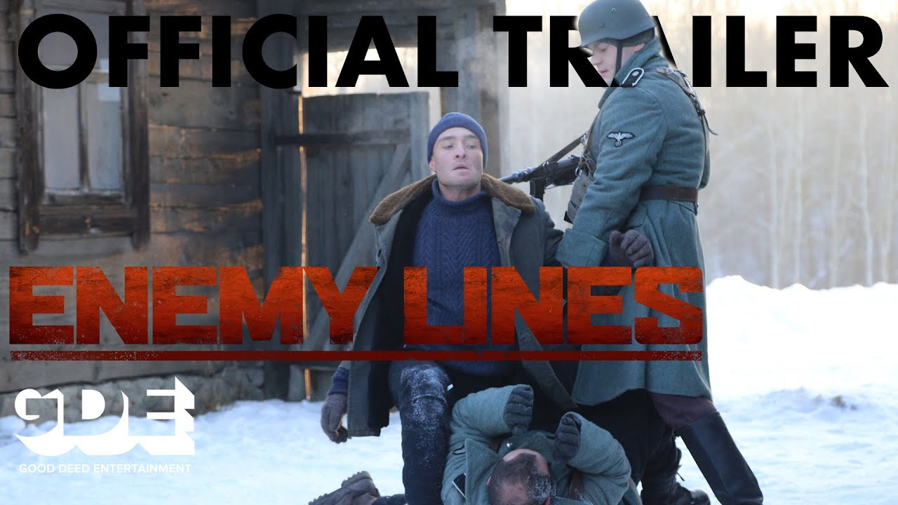 Enemy Lines Trailer – Starring Ed Westwick