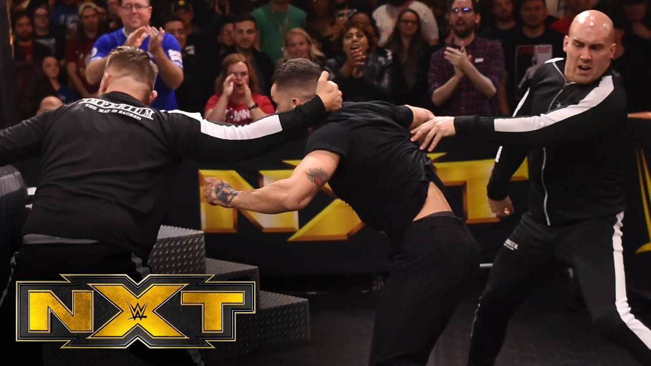 Imperium ambush Finn Bálor – WWE NXT, Feb. 26, 2020
