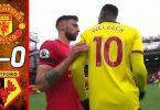 manchester united vs watford 3 0