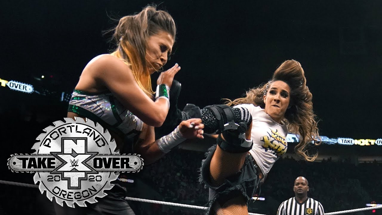 Nox and Kai come out swinging to open Street Fight: NXT TakeOver: Portland