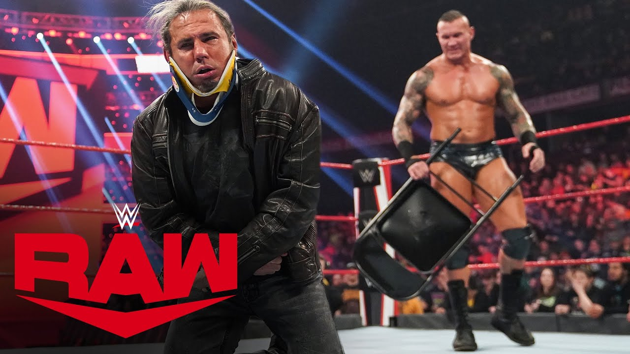 Randy Orton attacks Matt Hardy after apology to Edge – MONDAY NIGHT RAW