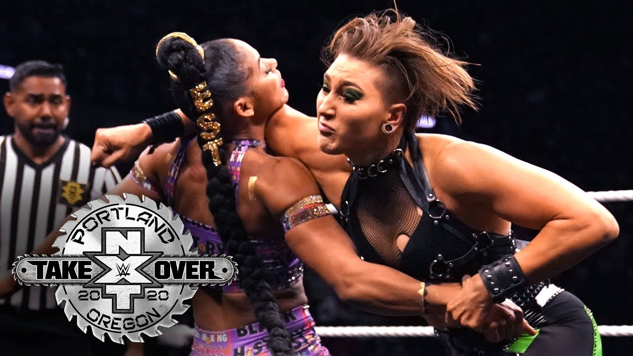 Rhea Ripley lowers the boom on Bianca Belair: NXT TakeOver: Portland