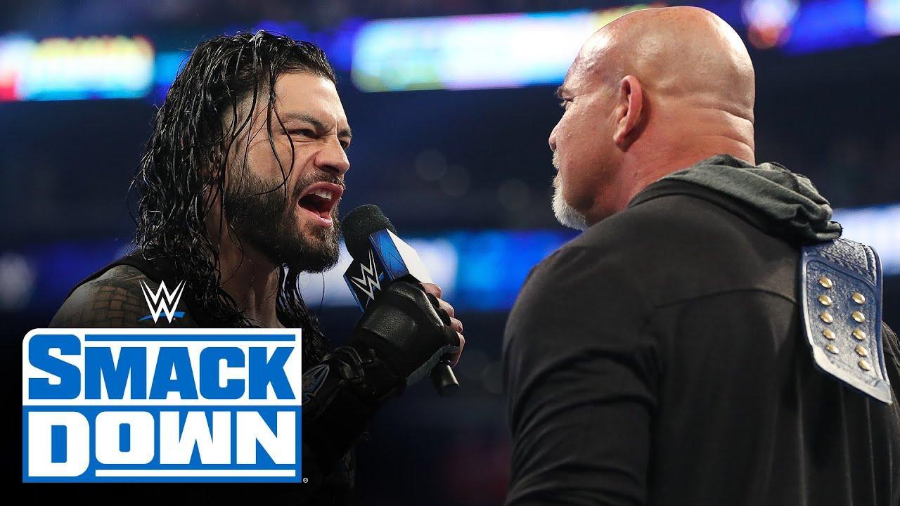 Roman Reigns emerges as next challenger for Universal Champion Goldberg – SmackDown, Feb. 28, 2020