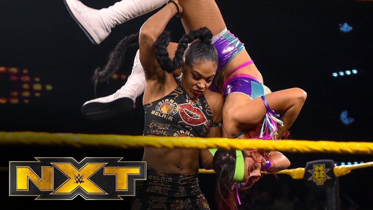 Santana Garrett vs. Bianca Belair: WWE NXT, Feb. 12, 2020