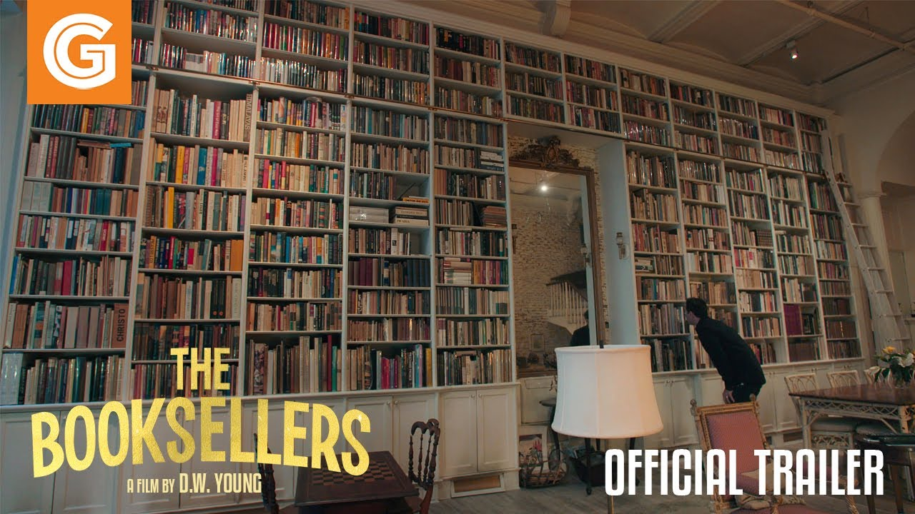 The Booksellers Trailer – Starring D.W. Young