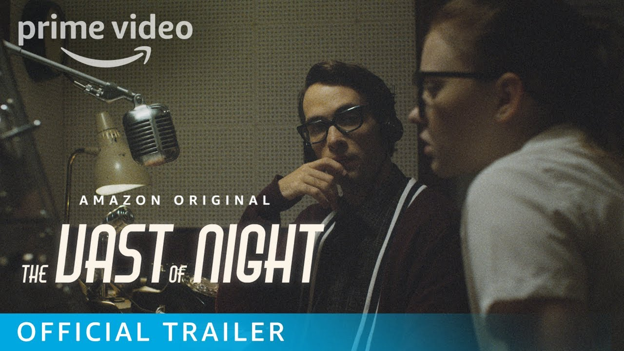 the vast of night trailer starri