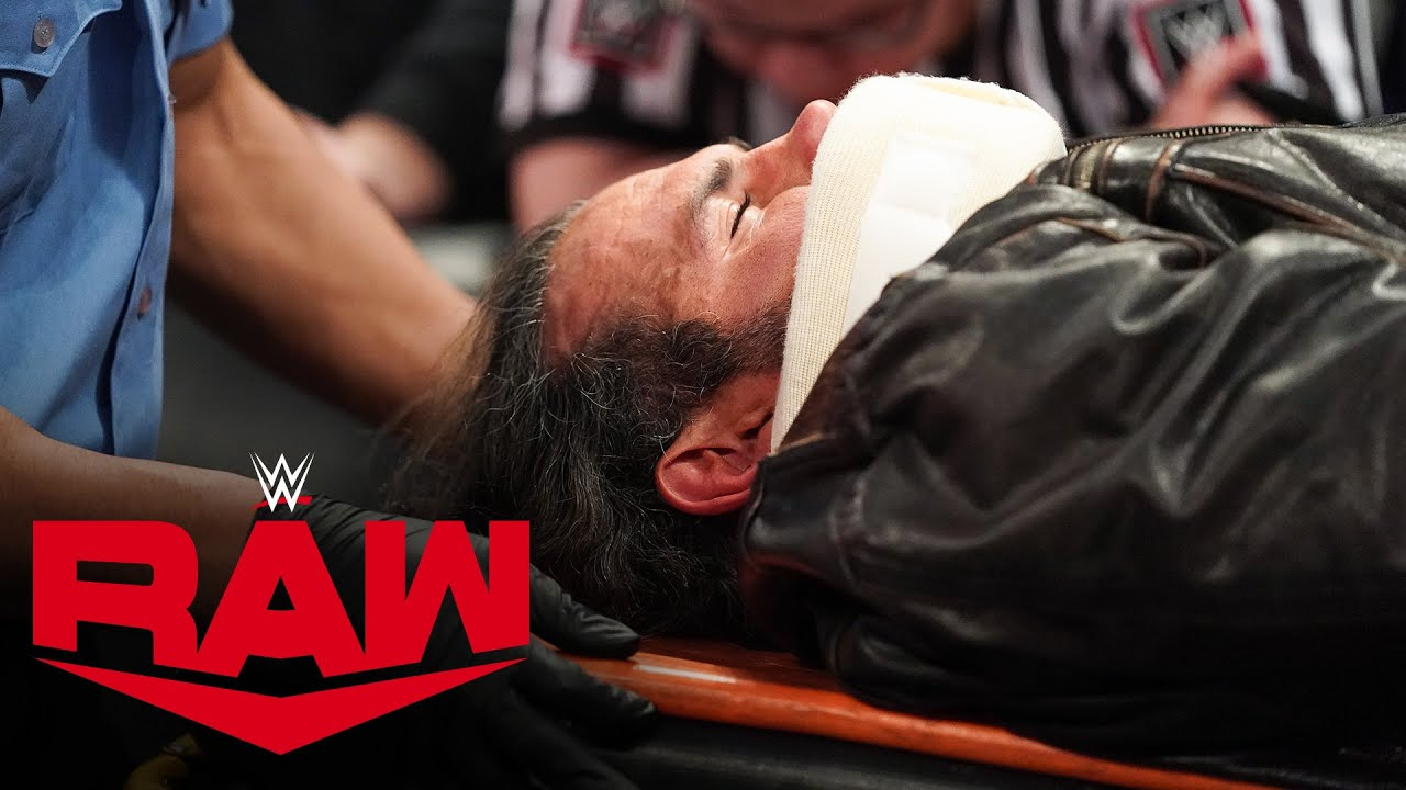 Unaired footage of Matt Hardy after Randy Orton's attack – MONDAY NIGHT RAW