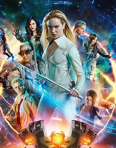 dc legends of tomorrow season 5 poster
