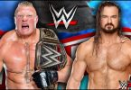 Brock Lesnar vs Drew McIntyre – WWE wrestlemania