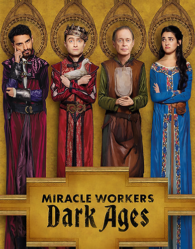Miracle workers season 2 poster