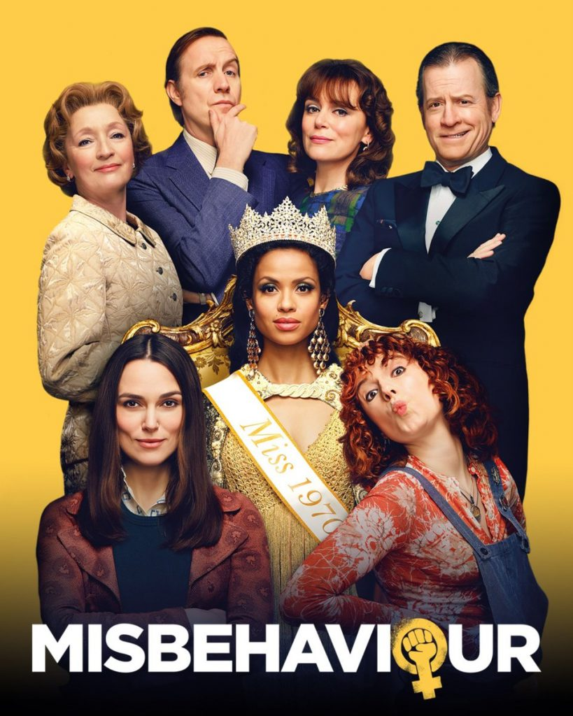 Misbehaviour 2020 movie