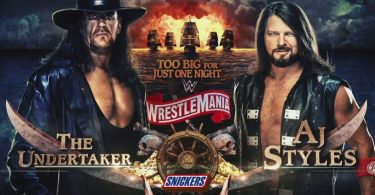 The Undertaker vs. AJ Styles WrestleMania Video Download