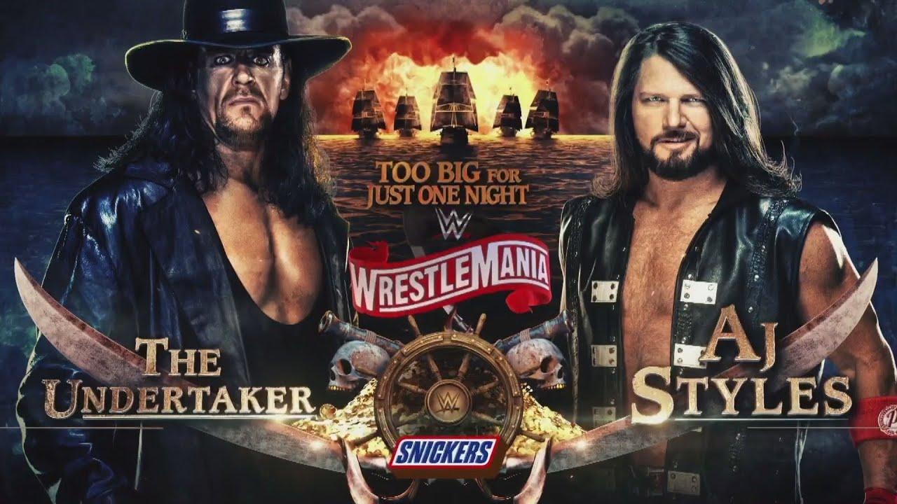 The Undertaker vs. AJ Styles WrestleMania Video Download