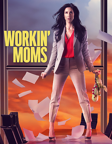Workin Moms season 4 poster