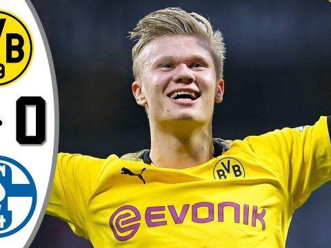 Borussia Dortmund vs Schalke 4−0