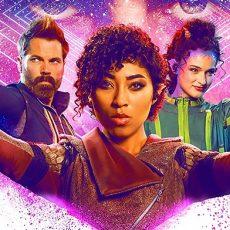 Vagrant Queen season 1 poster