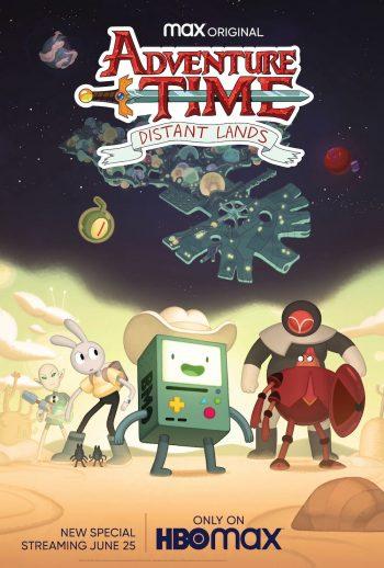 Adventure Time Distant Lands poster subtitles