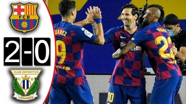 Barcelona Vs Leganes 2 0