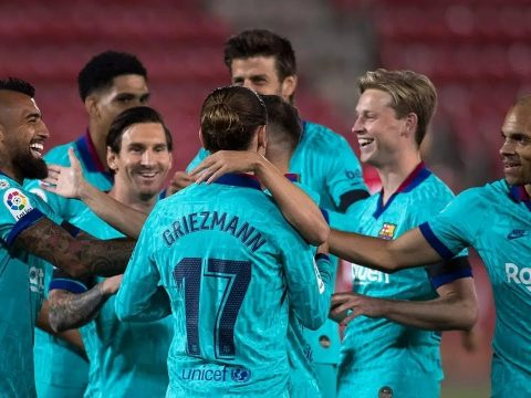 Mallorca Vs Barcelona highlights
