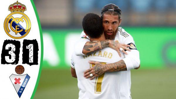 Real Madrid Vs Eibar 3 1