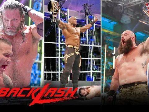 WWE Backlash 2020 Show