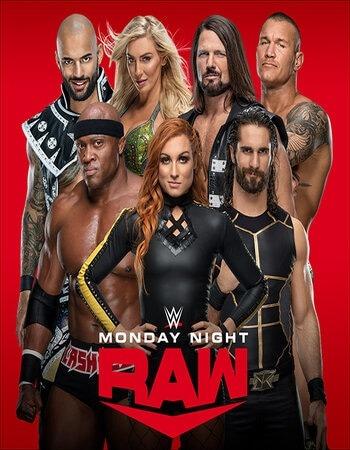 WWE Monday Night RAW 17 August 2020