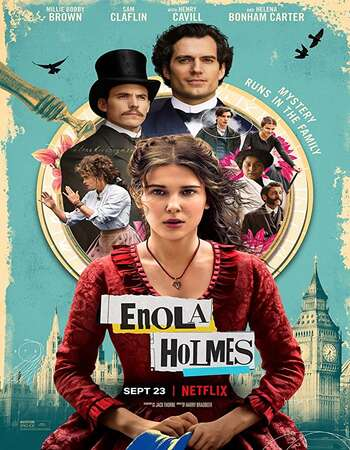 Enola Holmes 2020 dual audio hindi