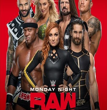 WWE Monday Night RAW 31 August 2020