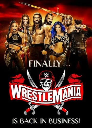 WrestleMania 37 2021