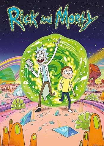 Rick and Morty S05E04 hindi